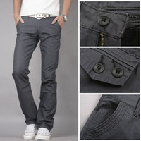 Wholesale jeans Hot Men Korean Hitz Ma gray Men Slim low waist casual long s cotton men s casual s men