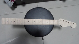 Wholesale 1pcs High Quality Unfinished Electric Guitar Neck Flame Maple NEW