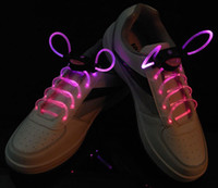 club - 2013 Light Up LED Flashing Shining Shoelaces Bootlace For Disco Party Clubbing Hip Hop Break Dance