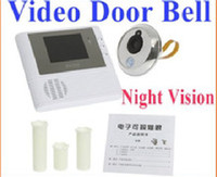 Wholesale 2GB Digital Peephole Doorbell M Night Vision Video Record Home Security freeshipping