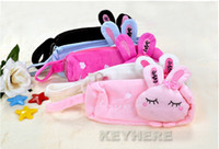 Wholesale Women s Girls Cute Cartoon Love Rabbit Pencil Box Case Cosmetic Bag