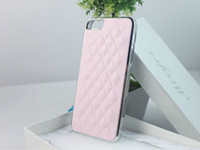 Wholesale DHL FREE Electroplate Chrome Sheep Skin Leather Case Back Cover Shell for Apple Iphone G