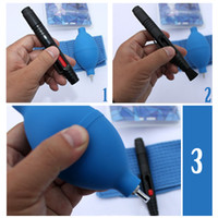 Wholesale 152PCS in Lens Cleaning Cleaner Dust Pen Blower Cloth Kit For DSLR VCR Camera Canon AB51