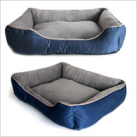 Wholesale Large Pet Dog Bed Nest Cat Soft Beds Plush Canvas House Kennel Pet Supplies Warm Waterproof quot