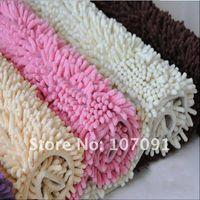 Wholesale x24 quot Microfiber Chenille Bath Mat Carpet luxury Superabsorbent mat Anti slip