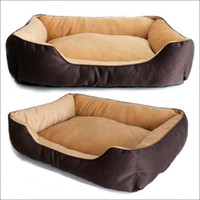 Wholesale New Luxury Large Pet Dog Cat Bed House Nest Warm Soft Beds Sleep Plush House Gift Winter cm V3685