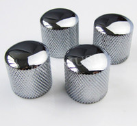 Wholesale Guitar Parts Metal DOME Tone Tunning KNOB CHROME Plated