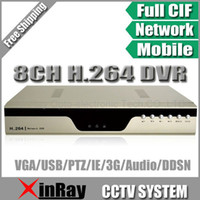 Wholesale via HK Post Air Mail H CH DVR with G Cellphone View with Multi Language CCTV D