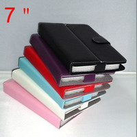 Wholesale magentic cases Folding leather case smart cover stand for quot inch Q88 A13 tablet pc MID