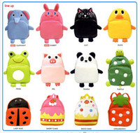 Wholesale NEW b2w2 cute children s school bags boys and girls shoulder bag zoo pack