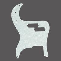 PVC bass pickguard - White Pearl Guitar Pickguard Scratch plate for Precision Bass PB ply