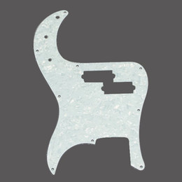 Wholesale White Pearl Guitar Pickguard Scratch plate for Precision Bass PB ply