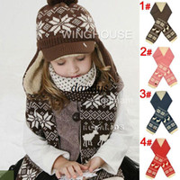 Wholesale New Hot Sale Baby scarf Deer God children cotton winter warm Knitted scarves shawl Children