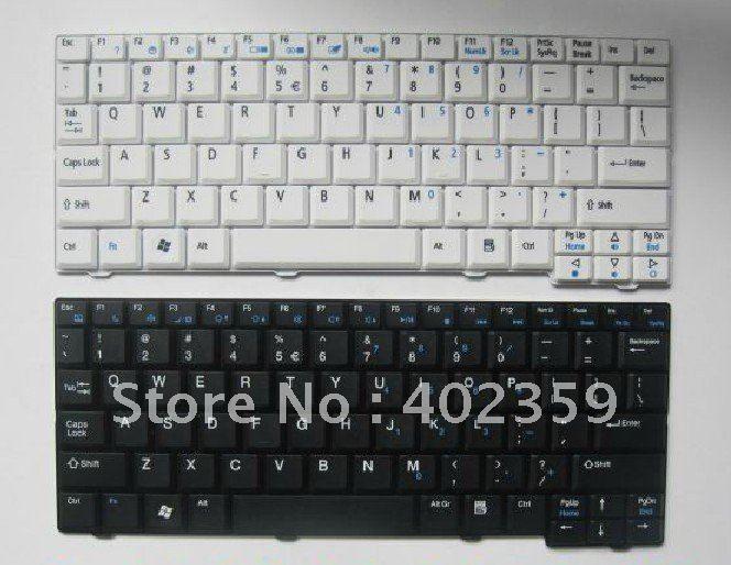 New For Acer Aspire One Zg5 Zg8 Kav10 Laptop Keyboard Us