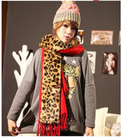 Wholesale 2013 New Arrival Fashion Leopard Shawls Lady Scarves amp wraps Beauiful Woman shawls