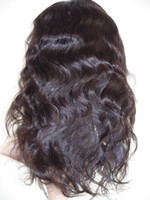 Indian Virgin Remy Human Hair Full Lace Wigs Body wave, in st...