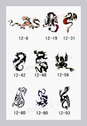 Wholesale Temporary Airbrush Tattoo Stencils book Template Booklet designs Reuseable free shipp