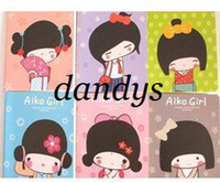Wholesale New kawaii japanese girl notebook Notepad Memo pocket book fashion Gift Wh