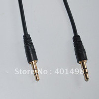 Wholesale via DHL mm Male to Male mm Audio Extension Cable