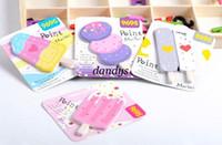 Wholesale New cute ice cream sticker memo Memo pad