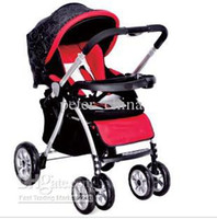 Single Jogger Strollers NEW Super shock Luxury baby carriages Baby Stroller Portable baby carriagesBaby wagon