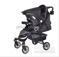 Strollers Reversible Seat Single Luxury baby carriages Can sit lie lying straight Portable baby carriagesBaby wagon Baby Stroll