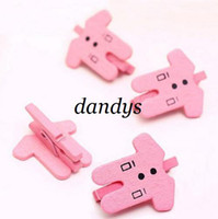 Wholesale Freeshipping New Lovely clothes design Wooden Mini Clip Bag Clip Paper cute Clip Korean Style Specia
