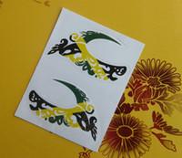 Wholesale Mix pairs NEW eye liner sticker shadow sticker moky eyes Sticker mix Models HOT