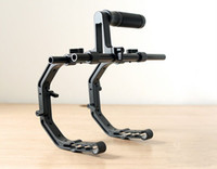 Stabilizers For Camera  Pro C Shape Support Cage* 2+Top Handle Grip DSLR Rig Rail System For DSLR