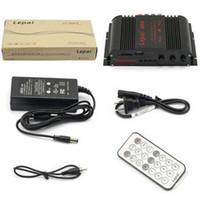 Wholesale 4 Channels Multifuntion USB FM MMC mini Digital Stereo Power Amplifier LP