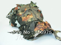 Wholesale Camo Hiking Camping Hunting Shooting Quick drying Ultra light Leaf Cap Ghillie