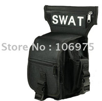 Wholesale MULTIL POCKETS SPORT OUTDOOR SWAT LEG DROP UTILITY BAG THIGH PACK CYCLING BIKER BAG
