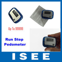 Wholesale LCD Run Step Pedometer Walking Calorie Counter Distance CHINA POST