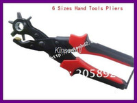 Wholesale Hight Quality Leather Hole Punch Sizes Hand Tools Pliers Leather Belt Hole Maker Punch Puncher Too