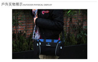 Wholesale ROSWHEEL Bicycle Handlebar Bags Cycling Front Tube Bags Outdoor Sporting Bags Blue
