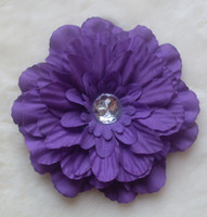 Flower beautiful grass - Hot Colors Peony Children s Hair Accessories Girls Flower Clip gerbera baby beautiful flower