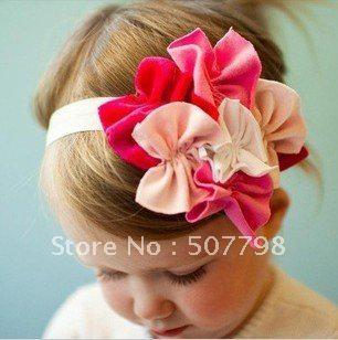 babyamour design fashion girl's handbrand, freesample infant hair accessory,baby flowers