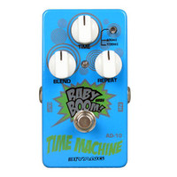 Wholesale Biyang BABY BOOM Time Machine Analog Delay Blue Finish MS Toggle Option Electric Guitar Effect Pedal