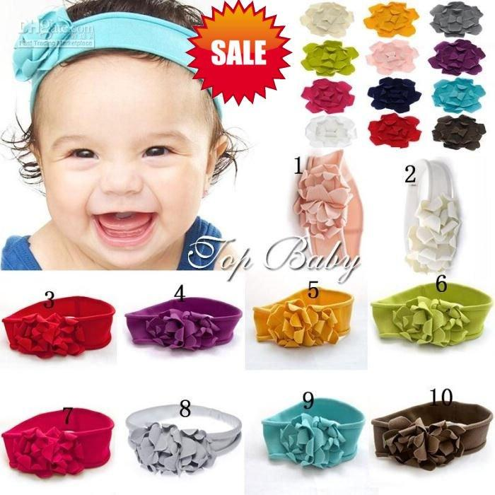 Wholesale free sample TOP BABY headbands baby girls Children's hair accessaries hairwear hairbands hair orna