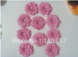 Wholesale 4 lovely peony flower Gerber Peony baby hair bows Children s clip girl flowers nxhjf
