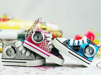 Wholesale pocket watch Keychain small Watches shoe s fashion jewelry Watch colors w044