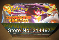 Wholesale POKEMON TRADING CARD GAME hot selling with low price set bags bag FREESHIPPING