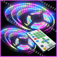 high brightness SMD5050 54LEDS M 5M 12V RGB marquee colorful...