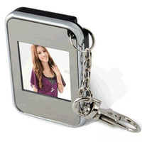 Wholesale Christmas gift Mini Keychain key chain inch Digital Photo Frame dropshipping