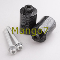 Cheap Free Shipping Brand New Motorcycle Frame Slider for Yamaha FZ6 Fazer 04-08 Carbon Fiber