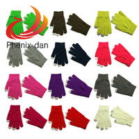 Wholesale Hot Magic Winter Gloves One Size Adult Multicolor pair Good sale