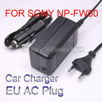 Wholesale The European regulatory plugs battery car charger NP FW50 NEX