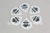 Wholesale Standard Derlin Material Tortex Style White Color Guitar Picks Plectrum MM Thickness