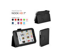 Protective Shell/Skin For Barnes & Noble Nook HD 7 for Acer W700 New Folio stand PU Leather Case Pouch Cover For Barnes & Noble Nook HD 7 inch Ebook Reader