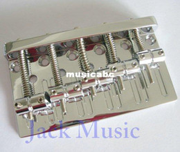 Wholesale High quality Vintage string Bass bridge guitar bridge Chrome Popular style